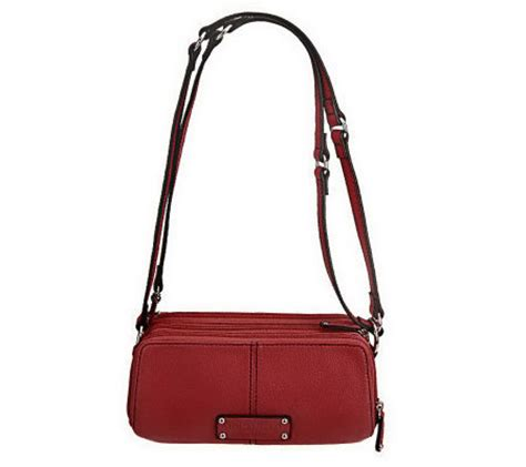 Tignanellos Eastwest Shopper From The Nantucket Collection by Tignanello Pebble Leather East West Adjustable Crossbody