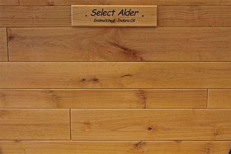 select alder standard  joint  matched endura oil