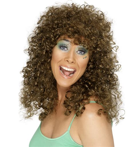 poodle perm look eighties spiral perm wig review compare prices buy online