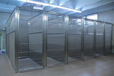 steel kennel the best kennel panels start with durable stainless steel doors