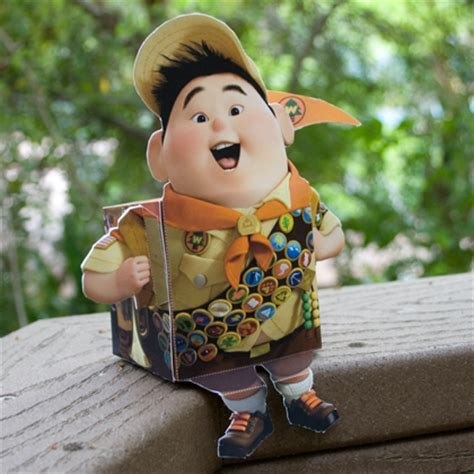 imagenes de russell up up russell 3d character disney family