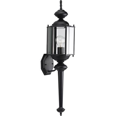 progress outdoor lighting fixtures progress lighting p5731 31 brassguard lantern outdoor wall mount fixture