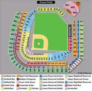colorado rockies seat map colorado rockies tickets 2015 schedule ticketcity