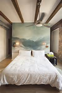 Painting A Mural On A Bedroom Wall 20 Cool Headboard Alternatives Furnish Burnish