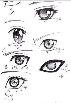 tutorial menggambar emo anime eyes picture by animecatgirl78966 drawingnow