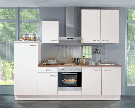 einbauküche mit elektrogeräten k 220 chenzeile wei 195 ÿ mit elektroger 195 164 ten free