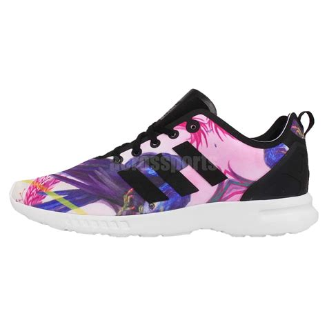 adidas floral shoes adidas originals zx flux smooth w zebra print floral