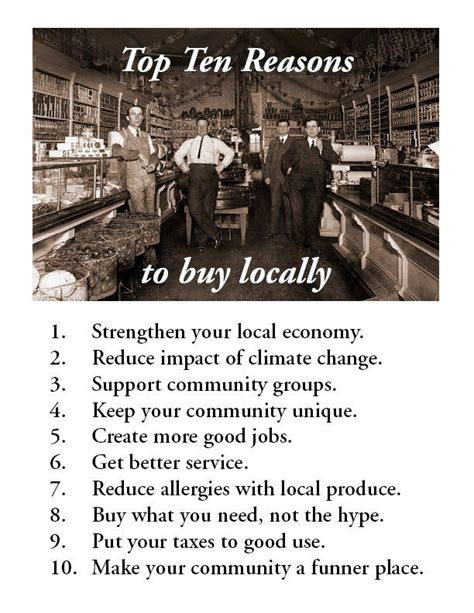 7 Reasons To Buy Local by 1000 Images About Buy Local On Restaurant