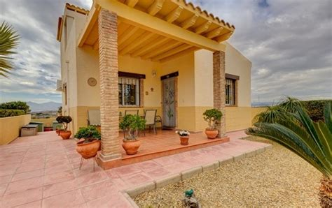 4 bedroom villas in spain detached 4 bedroom furnished villa in vera almeria spain