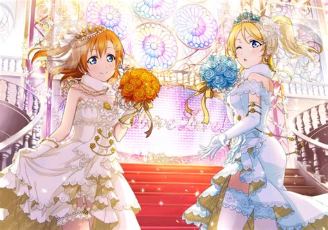 live school idol festival card template image eli and honoka urs card school idol festival png