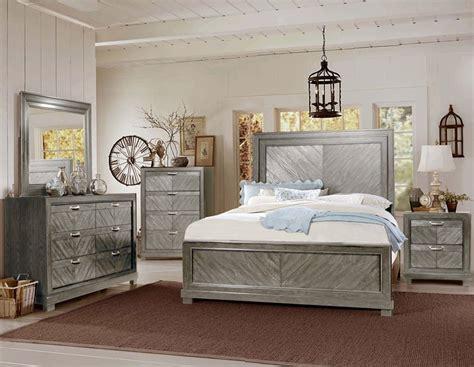 Montana Bedroom Set by Steve Silver Re137 Montana Bedroom Set In Grey Dallas