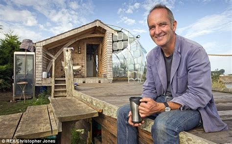 grand designs presenter house call that a grand design tv host kevin mccloud builds a 163 5 000 shack out of recycled
