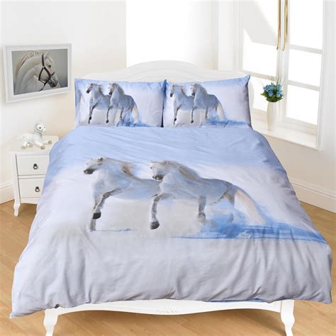 3d Duvet Cover Bedding Sets 3d Duvet Set Animal Printed Quilt Cover With Pillow Cases Poly Cotton Bedding Ebay
