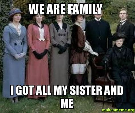 Crazy Sister Meme - family tree