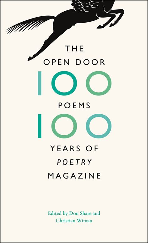 Open The Door Poem by The Open Door One Hundred Poems One Hundred Years Of