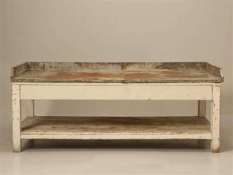 Potting Tables For Sale by Antique American Potting Bench In Original Paint For Sale At 1stdibs