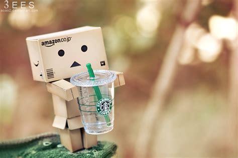 Starbucks   by *aoao2 on deviantART   Cute Cardboard people   Pinterest   Danbo, Starbucks and