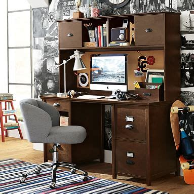 escritorios kelly services chatham large file desk hutch pbteen