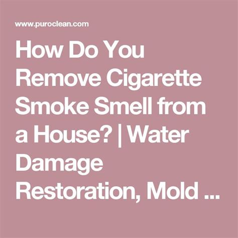 25 best ideas about smoke smell on pinterest cigarette smoke removal go car rental and