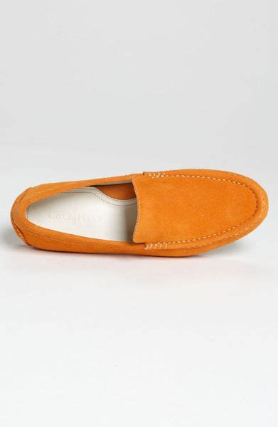 cole haan air somerset loafer cole haan air somerset loafer in orange for burnt