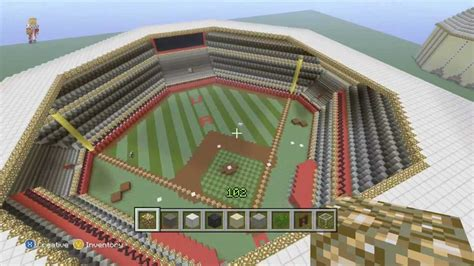 How To Make A Baseball Field In Your Backyard by Minecraft Baseball Field