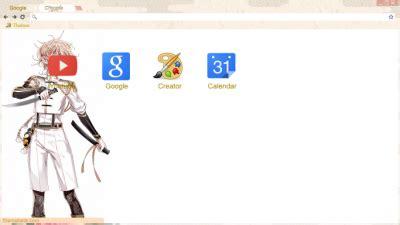 theme google chrome touken ranbu touken ranbu chrome themes themebeta