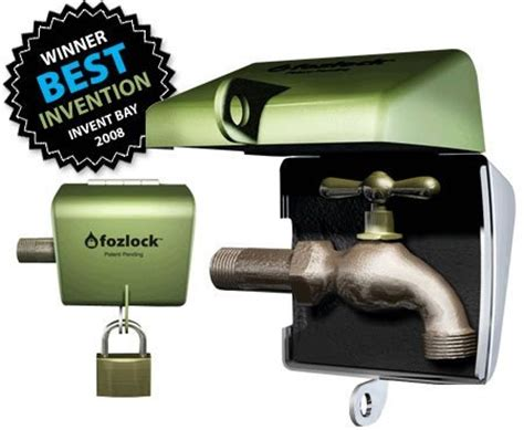 Outdoor Water Faucet Lock by Fozlock Outdoor Hose Bibb Faucet Lock Hardware Plumbing