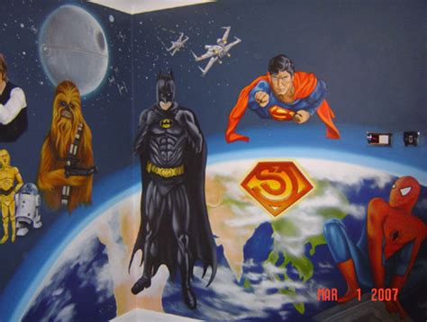 superman wall mural inspire murals superman wall mural