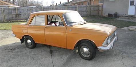 lada ministeriale a 1973 soviet era moskvich sedan ebay stories