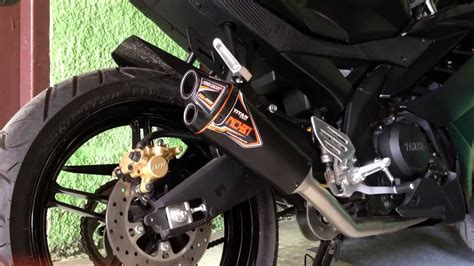 Knalpot R15 All Newvvav3 nobi titan sistem on yamaha r15 sound test