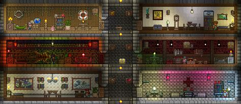 Terraria Rooms by Pc Cyndal S Wip Builds Terraria Community Forums
