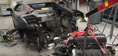 lamborghini engine lamborghini gallardo v10 engine removal timelapse is