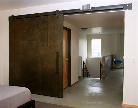 facelift industrial metal sliding door and industrial