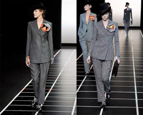 Mannish Chic At Fashion Week by Moda Femminile 2013 Mannish Style