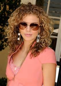 hair color for curly hair casual curly hairstyles with brown hair color and