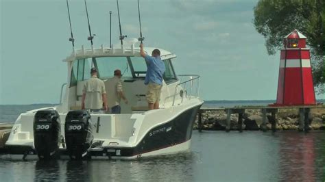 29 foot walkaround fishing boat by striper boats youtube