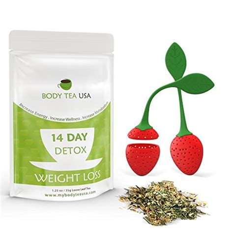 Detox For Bloating And Weight Loss by Tea Detox Tea 14 Day Flat Tummy Tea Cleanse And