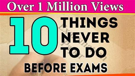 exams exam tips