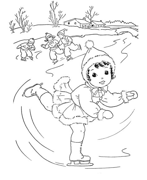 Winter Themed Coloring Pages winter coloring pages coloring