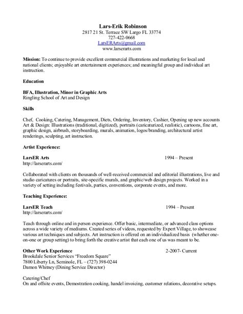 Resume Accomplishments For Food Service Resume With Food Service 020712