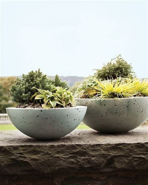 hypertufa pots pots made three ingredients