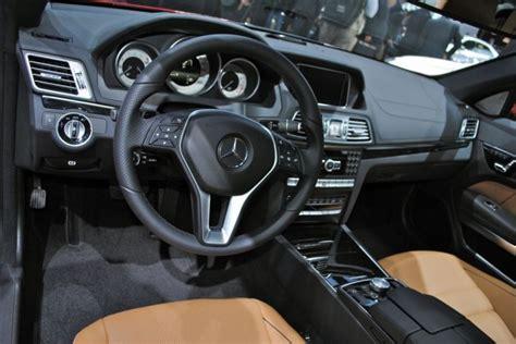 2013 Mercedes E350 Interior by 2013 Detroit 2014 Mercedes E Class Coupe Interior