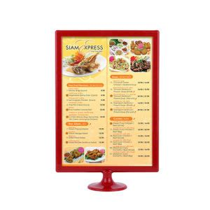 restaurant table top display stands china tabletop plastic restaurant menu board display stand