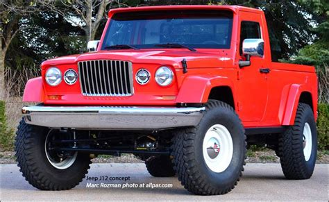 2012 Jeep Gladiator For Sale 2012 Jeep J12 Retro Wrangler