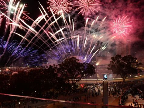 new year fireworks adelaide how south australia welcomed in 2015 the courier mail