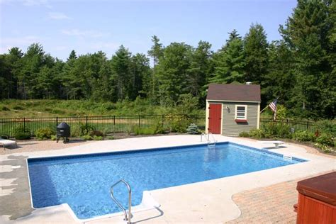 Swimming Pool Shed by The Pool Shed Swimming Pools For Maine In Ground Pools