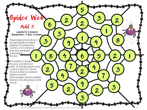 printable maths board games year 1 fun games 4 learning october 2012