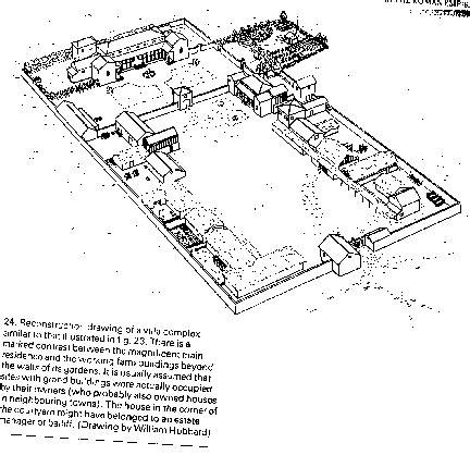 villa rustica layout history 331 texts roman farming