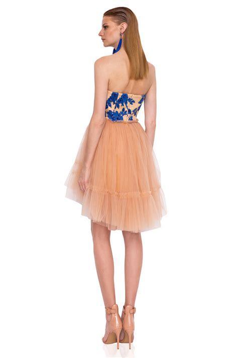 Mini Tulle Dress mini tulle evening dress rs9360 nissa