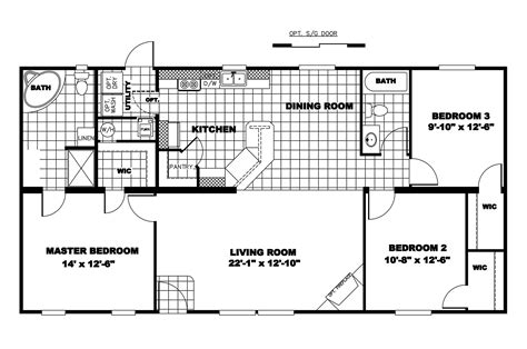 manufactured home floor plan 2006 clayton legend